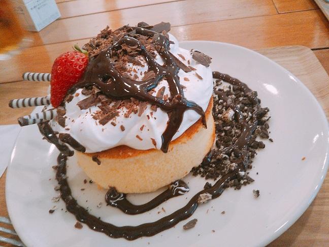 雪ん子 くるくるチョコパンケーキ