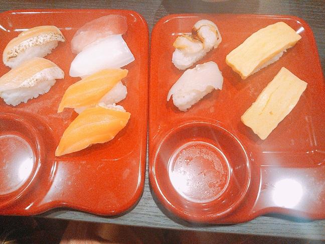しゃぶ葉 お寿司
