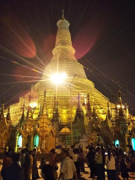 シュエダゴン・パゴダ ミャンマーヤンゴン