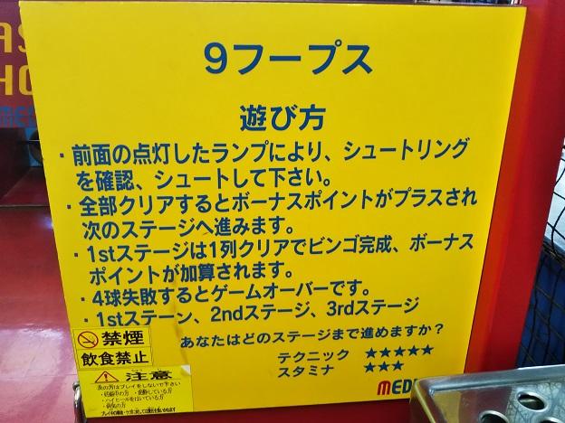 駅前スタジアム 9フーブス説明