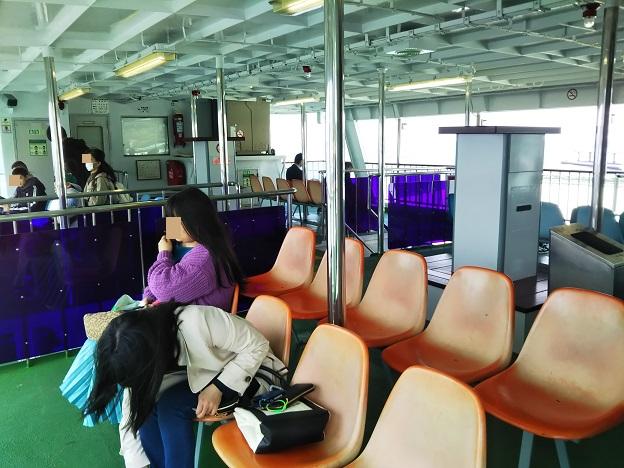 宮島松大汽船オープン席