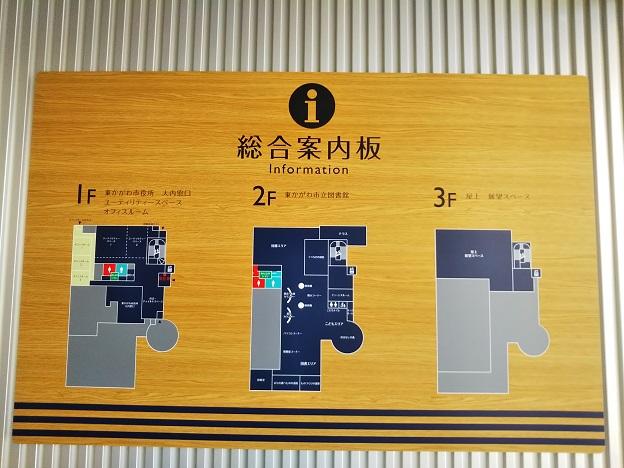 ひとの駅さんぼんまつ 案内図
