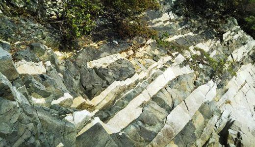 天然記念物ランプロファイヤ岩脈で潮干狩り 東かがわ市鹿浦越