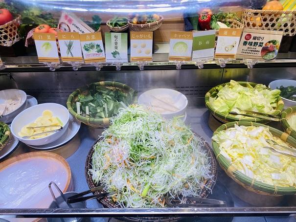 しゃぶ葉 野菜3