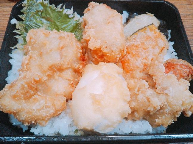 あさ山丸亀 鶏たま天丼