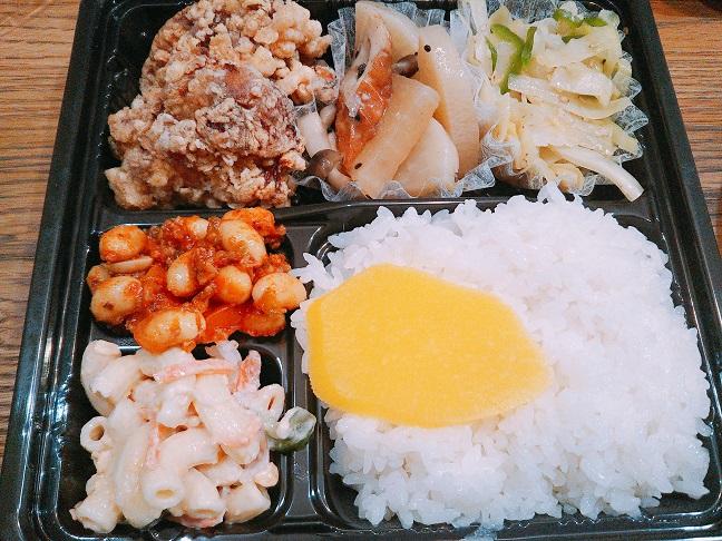 キッチンニコ唐揚げ弁当