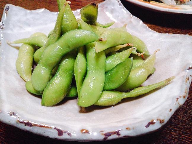 ヒロハ家 枝豆
