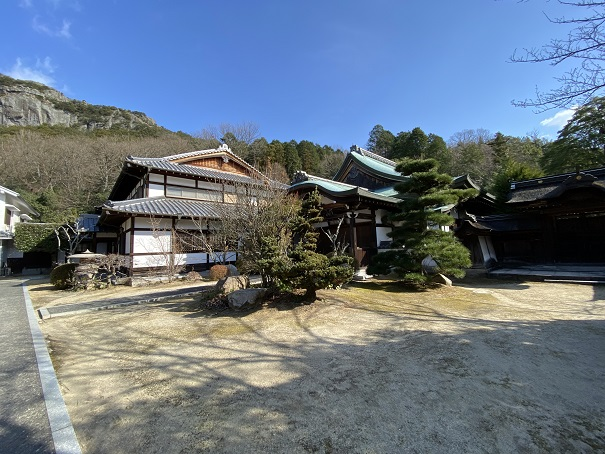 八栗寺本坊風景