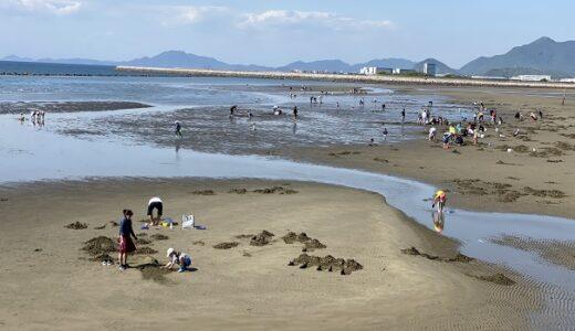 香川県の潮干狩り あさり ハマグリ ニナ貝が取れるおすすめ7選