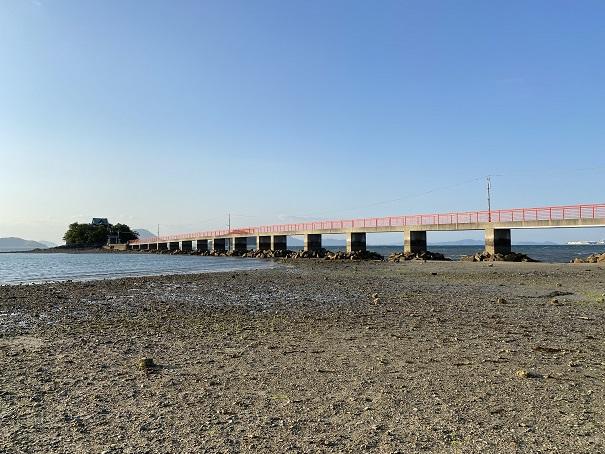 津嶋神社大潮の干潮海岸