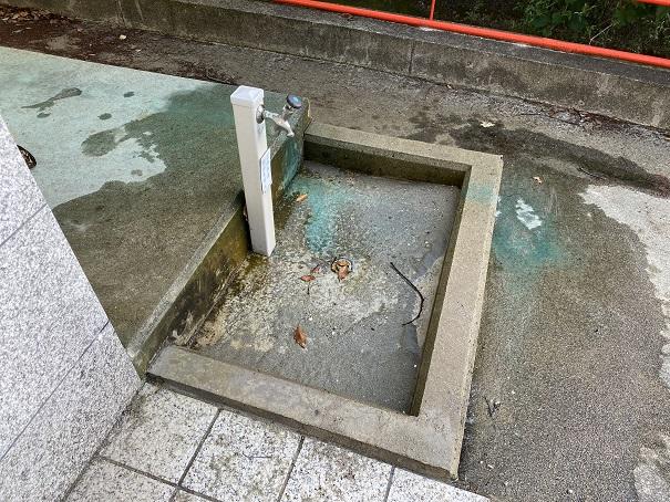 津嶋神社水道