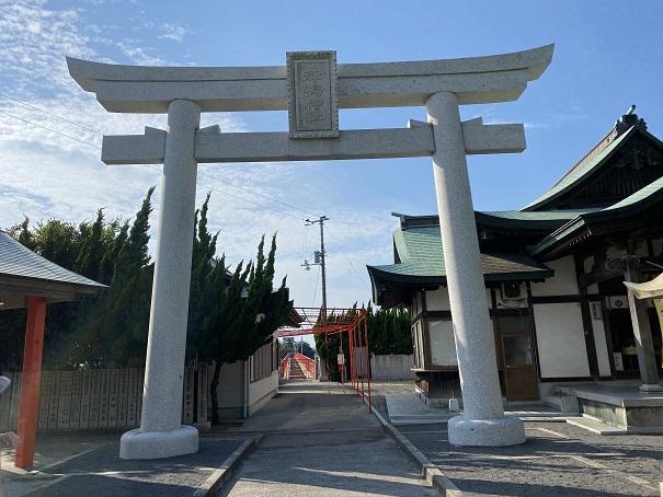 津嶋神社鳥居