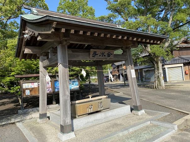 津嶋神社手水舎