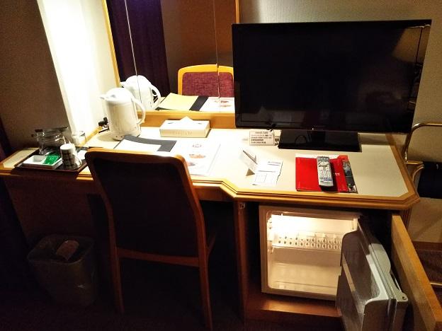 ホテル日航成田テレビや冷蔵庫