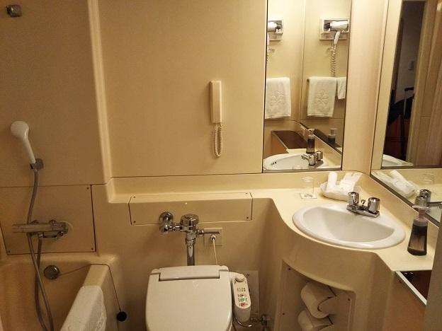 ホテル日航成田トイレやフロ