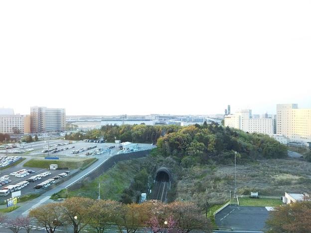 ホテル日航成田窓からの風景