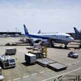成田空港発 ミャンマーヤンゴン国際空港へANAの飛行機