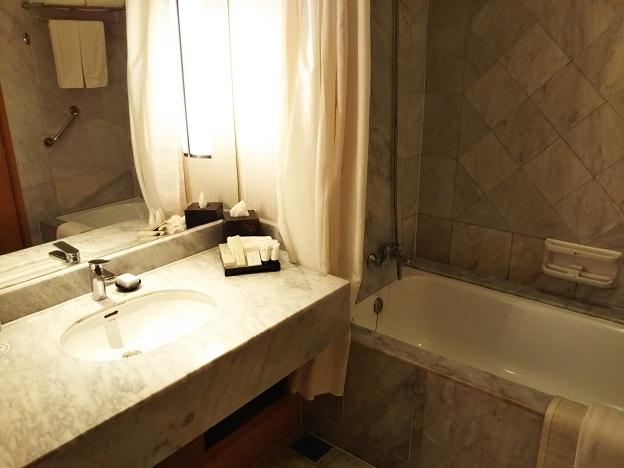 セドナホテル風呂と洗面