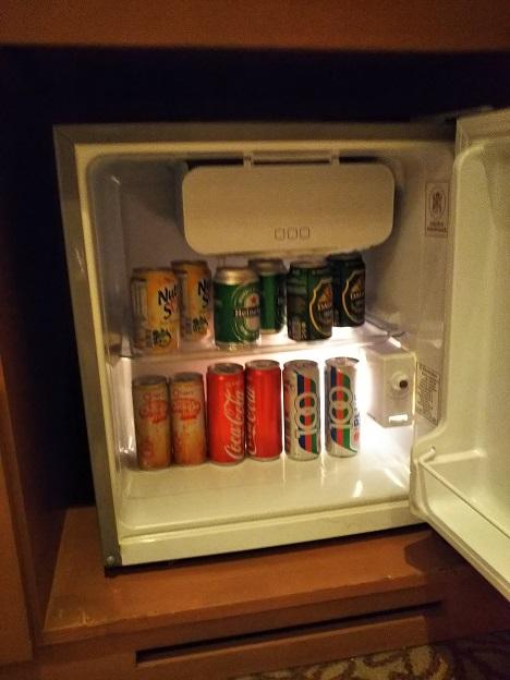 セドナホテル冷蔵庫