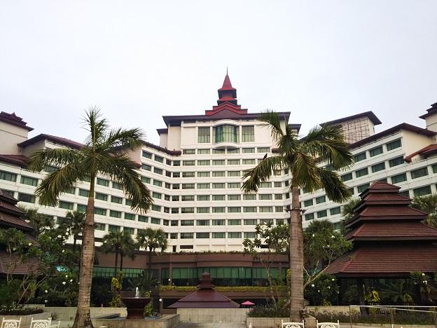セドナホテルの建物