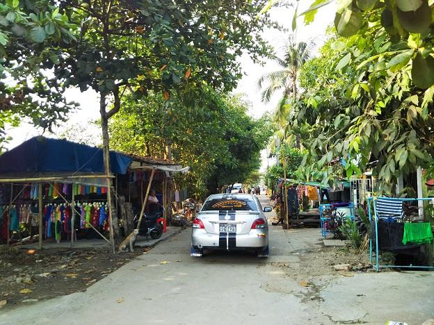 ミャンマヤンゴンーの郊外