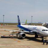 高松空港ANAの飛行機