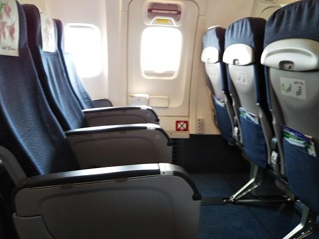 高松からANAの飛行機座席