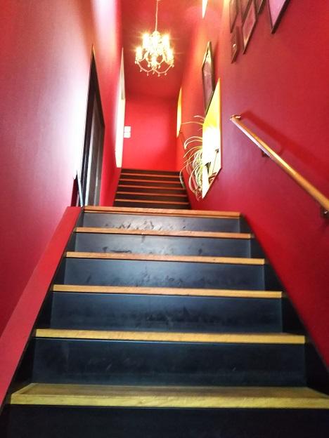 おうごん蔵・BU 階段