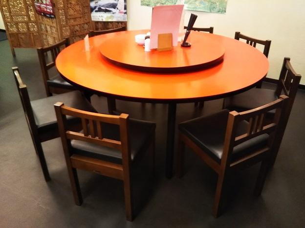 中華阿佐 回転テーブル