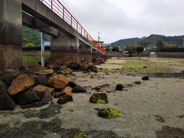 津嶋神社 橋の下