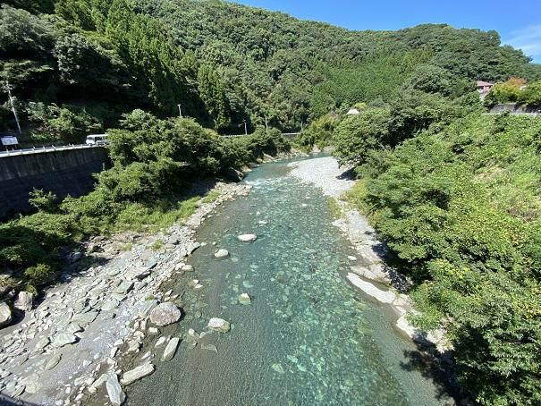 穴吹川おすすめ川遊びポイント
