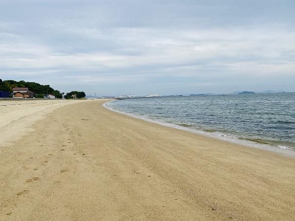 沙美海水浴場東浜風景