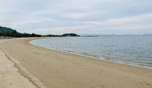沙美海水浴場と海岸 マテ貝の潮干狩り 日本の渚百選 倉敷市