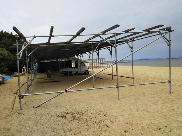 沙美海水浴場 海の家2