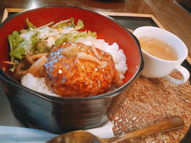 蔵人珈蔵 ハンバーグ丼