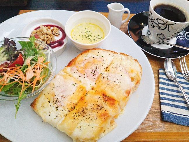 NicoCafe ハムとチーズのトースト