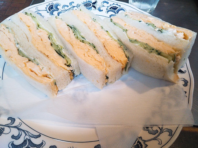 CAFE DE YURI 卵サンド」