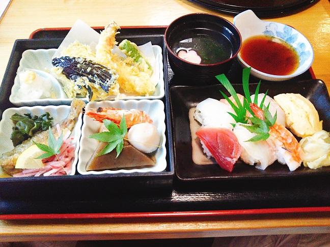 かつまや 天ぷら定食