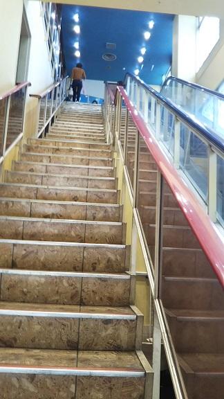 太洋ボウル 階段