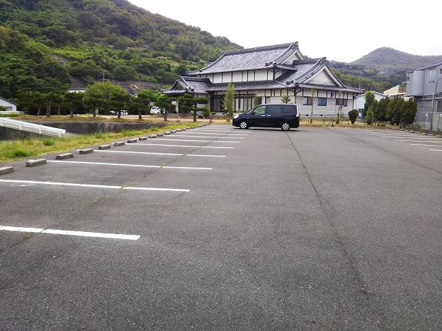 青佐鼻海岸駐車場