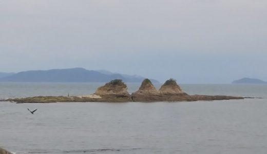 寄島三郎島のあさり潮干狩りと青佐鼻海水浴場の穴ジャコ取り 浅口市