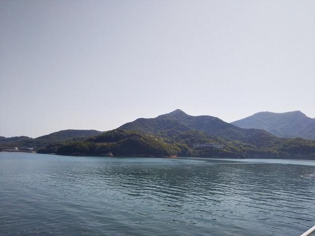 小豆島フェリからの景色