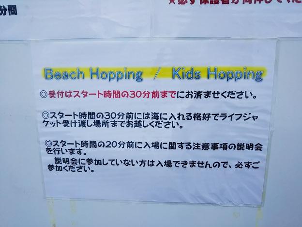 ビーチホッピング ルール