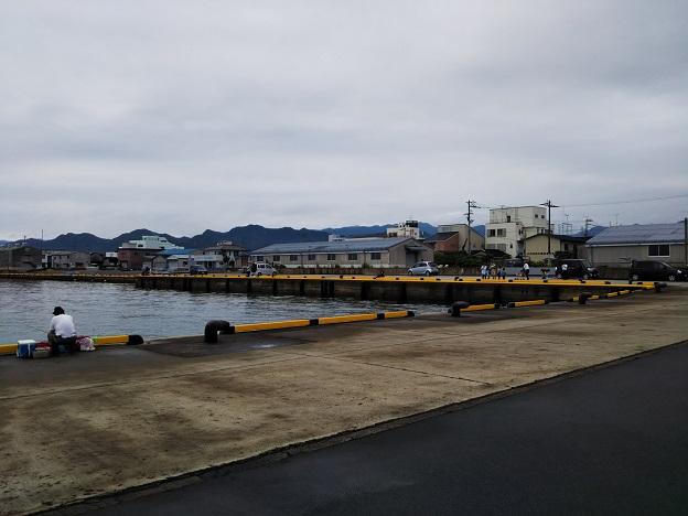 香川県東かがわの三本松港