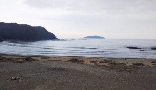 内妻海岸と海水浴場 徳島県牟岐町のサーフィンやボディボードが出来る場所