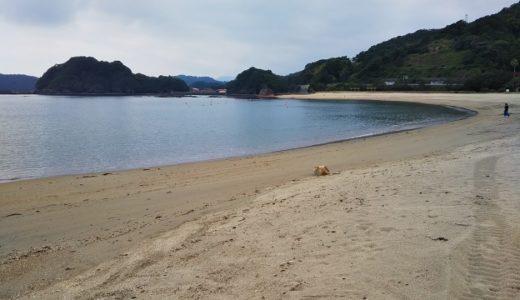 大砂海水浴場 徳島県海陽町の快水浴場100選の海水浴場