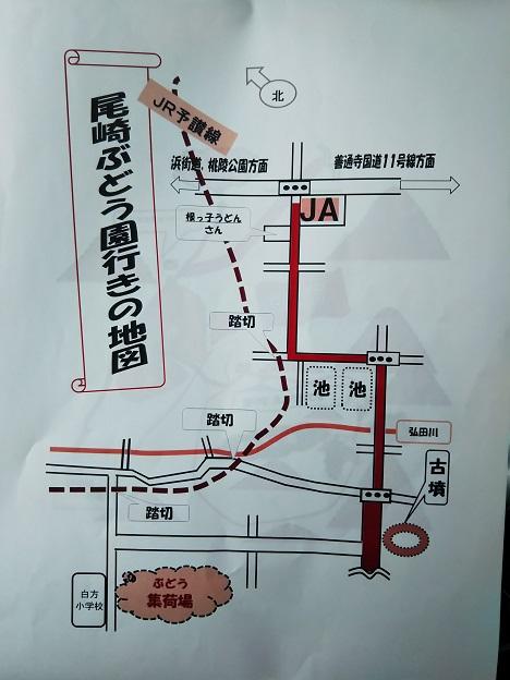 尾崎ぶどう園 地図1