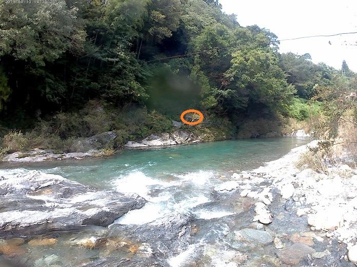汗見川を下ると泳げそうな場所が