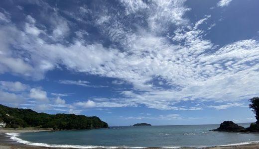 内妻海岸と海水浴場 サーフィンやボディボードが出来る 徳島県牟岐町