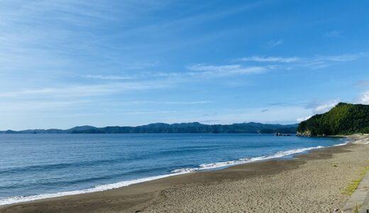 北の脇海水浴場 徳島県最大のビーチ 日本の渚・百選 阿南市